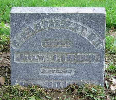 BASSETT, ANGEL HENRY  REV. - Clark County, Ohio | ANGEL HENRY  REV. BASSETT - Ohio Gravestone Photos