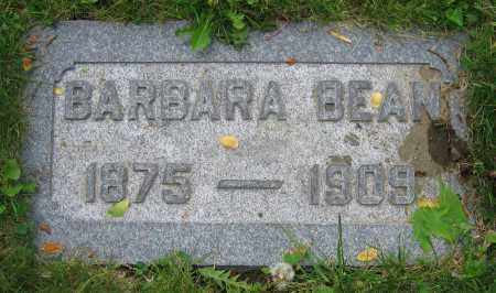BEAN, BARBARA - Clark County, Ohio | BARBARA BEAN - Ohio Gravestone Photos