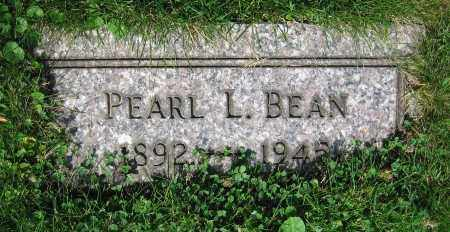 BEAN, PEARL L. - Clark County, Ohio | PEARL L. BEAN - Ohio Gravestone Photos