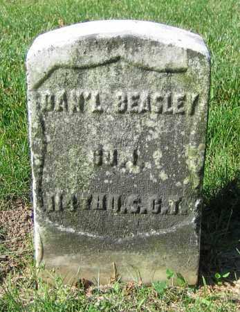 BEASLEY, DAN'L - Clark County, Ohio | DAN'L BEASLEY - Ohio Gravestone Photos