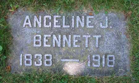 BENNETT, ANGELINE J. - Clark County, Ohio | ANGELINE J. BENNETT - Ohio Gravestone Photos