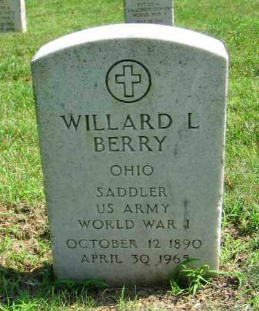 BERRY, WILLARD L - Clark County, Ohio | WILLARD L BERRY - Ohio Gravestone Photos