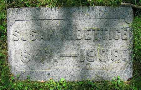 BETTICE, SUSAN N. - Clark County, Ohio | SUSAN N. BETTICE - Ohio Gravestone Photos