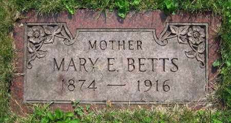 BETTS, MARY E. - Clark County, Ohio | MARY E. BETTS - Ohio Gravestone Photos