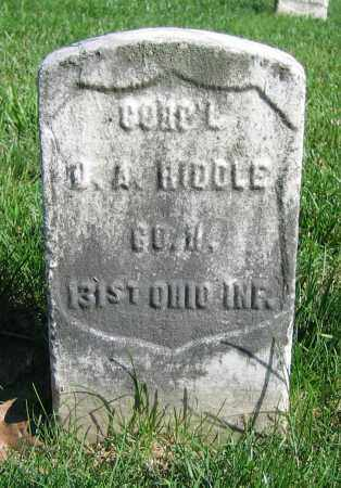 BIDDLE, J.A. - Clark County, Ohio | J.A. BIDDLE - Ohio Gravestone Photos