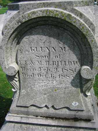 BILLOW, GLENN M. - Clark County, Ohio | GLENN M. BILLOW - Ohio Gravestone Photos