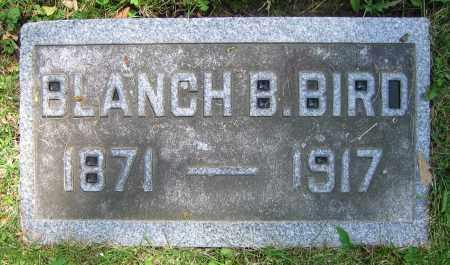 BIRD, BLANCH B. - Clark County, Ohio | BLANCH B. BIRD - Ohio Gravestone Photos