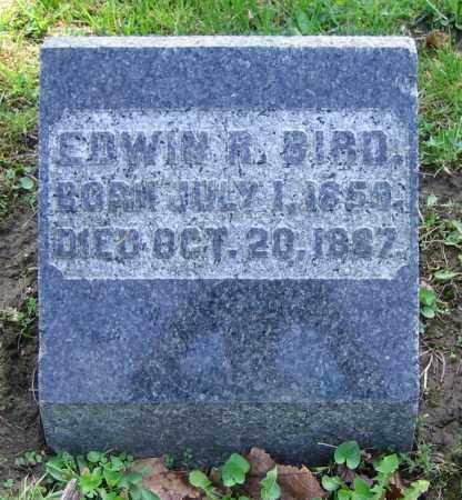 BIRD, EDWIN R. - Clark County, Ohio | EDWIN R. BIRD - Ohio Gravestone Photos