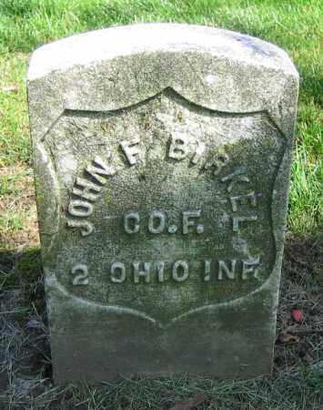 BIRKEL, JOHN F. - Clark County, Ohio | JOHN F. BIRKEL - Ohio Gravestone Photos