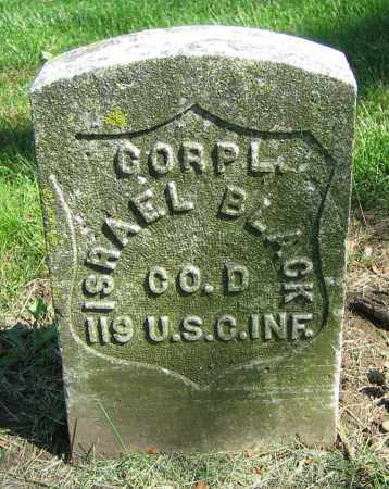 BLACK, ISRAEL - Clark County, Ohio | ISRAEL BLACK - Ohio Gravestone Photos