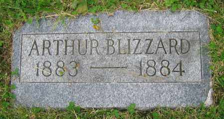BLIZZARD, ARTHUR - Clark County, Ohio | ARTHUR BLIZZARD - Ohio Gravestone Photos