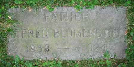 BLUMENSTIEL, J. FRED - Clark County, Ohio | J. FRED BLUMENSTIEL - Ohio Gravestone Photos