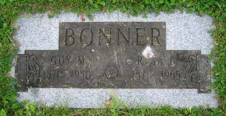 BONNER, GUY M. - Clark County, Ohio | GUY M. BONNER - Ohio Gravestone Photos