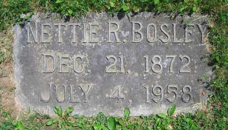 BOSLEY, NETTIE R. - Clark County, Ohio | NETTIE R. BOSLEY - Ohio Gravestone Photos