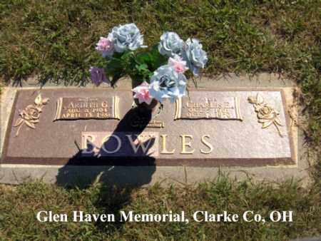 TITTLE BOWLES, ARDITH - Clark County, Ohio | ARDITH TITTLE BOWLES - Ohio Gravestone Photos
