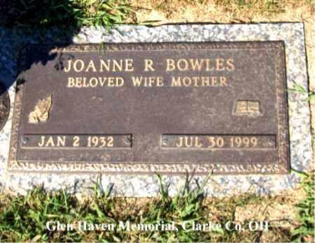 SHILLING BOWLES, JOANNE - Clark County, Ohio | JOANNE SHILLING BOWLES - Ohio Gravestone Photos