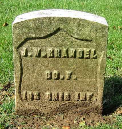 BRANDEL, J.W. - Clark County, Ohio | J.W. BRANDEL - Ohio Gravestone Photos