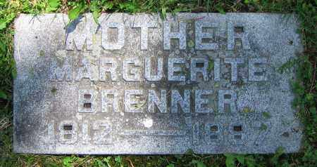 BRENNER, MARGUERITE - Clark County, Ohio | MARGUERITE BRENNER - Ohio Gravestone Photos