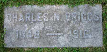 BRIGGS, CHARLES N. - Clark County, Ohio | CHARLES N. BRIGGS - Ohio Gravestone Photos