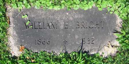 BRIGHT, WILLIAM E. - Clark County, Ohio | WILLIAM E. BRIGHT - Ohio Gravestone Photos