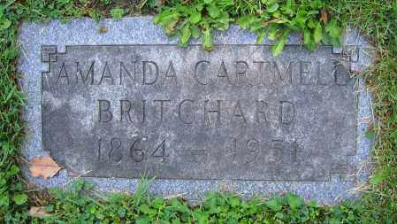 CARTMELL BRITCHARD, AMANDA - Clark County, Ohio | AMANDA CARTMELL BRITCHARD - Ohio Gravestone Photos