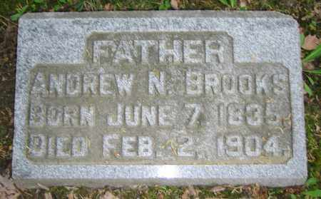 BROOKS, ANDREW N. - Clark County, Ohio | ANDREW N. BROOKS - Ohio Gravestone Photos