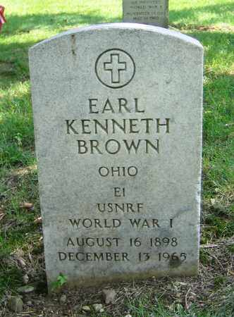 BROWN, EARL KENNETH - Clark County, Ohio | EARL KENNETH BROWN - Ohio Gravestone Photos