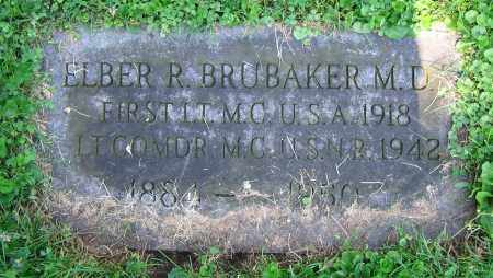 BRUBAKER, ELBER R.  M.D. - Clark County, Ohio | ELBER R.  M.D. BRUBAKER - Ohio Gravestone Photos