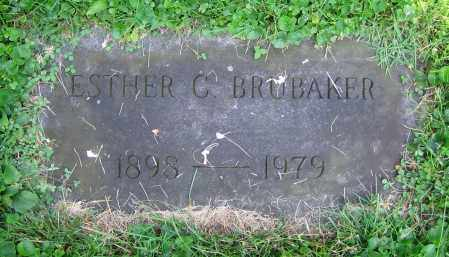 BRUBAKER, ESTHER C. - Clark County, Ohio | ESTHER C. BRUBAKER - Ohio Gravestone Photos