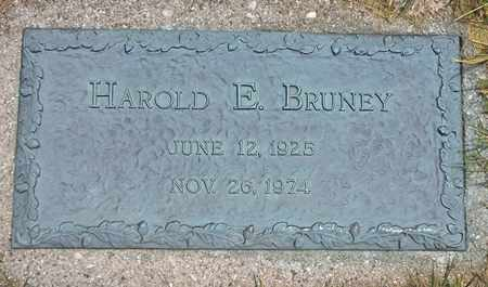 BRUNEY, HAROLD - Clark County, Ohio | HAROLD BRUNEY - Ohio Gravestone Photos