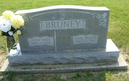BRUNEY, ANNA - Clark County, Ohio | ANNA BRUNEY - Ohio Gravestone Photos