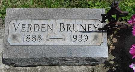 BRUNEY, VERDEN - Clark County, Ohio | VERDEN BRUNEY - Ohio Gravestone Photos