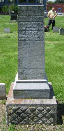 BURKE, MARY ELLEN - Clark County, Ohio | MARY ELLEN BURKE - Ohio Gravestone Photos