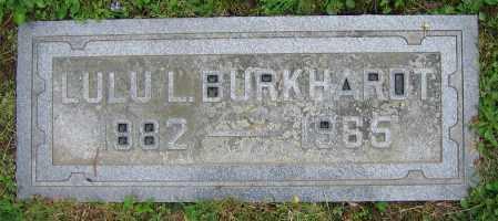 BURKHARDT, LULU L. - Clark County, Ohio | LULU L. BURKHARDT - Ohio Gravestone Photos
