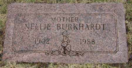 BURKHARDT, NELLIE - Clark County, Ohio | NELLIE BURKHARDT - Ohio Gravestone Photos
