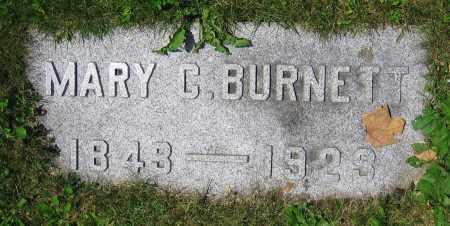BURNETT, MARY C. - Clark County, Ohio   MARY C. BURNETT - Ohio Gravestone Photos