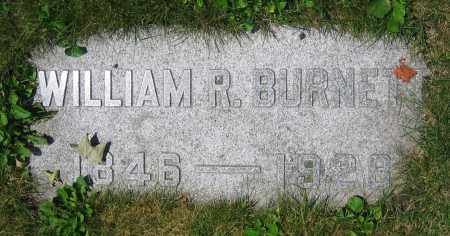 BURNETT, WILLIAM R. - Clark County, Ohio | WILLIAM R. BURNETT - Ohio Gravestone Photos