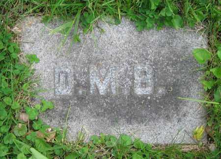 BURNS, D.M. - Clark County, Ohio | D.M. BURNS - Ohio Gravestone Photos