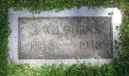 BURNS, J. WM. - Clark County, Ohio | J. WM. BURNS - Ohio Gravestone Photos