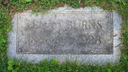 BURNS, LENA J. - Clark County, Ohio | LENA J. BURNS - Ohio Gravestone Photos