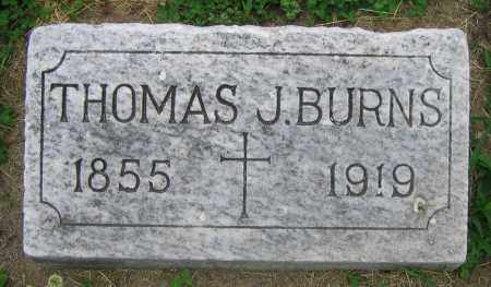 BURNS, THOMAS J. - Clark County, Ohio | THOMAS J. BURNS - Ohio Gravestone Photos