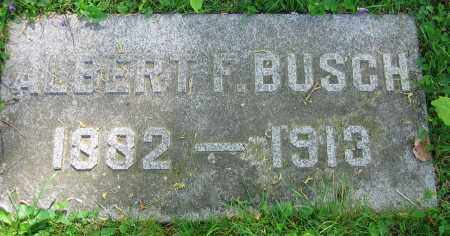 BUSCH, ALBERT F. - Clark County, Ohio   ALBERT F. BUSCH - Ohio Gravestone Photos