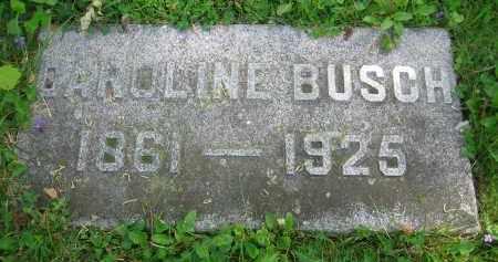 BUSCH, CAROLINE - Clark County, Ohio | CAROLINE BUSCH - Ohio Gravestone Photos