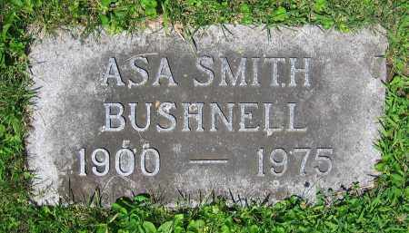 BUSHNELL, ASA SMITH - Clark County, Ohio | ASA SMITH BUSHNELL - Ohio Gravestone Photos