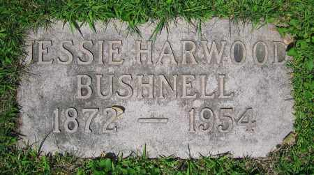 HARWOOD BUSHNELL, JESSIE - Clark County, Ohio | JESSIE HARWOOD BUSHNELL - Ohio Gravestone Photos