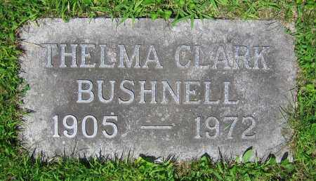 BUSHNELL, THELMA - Clark County, Ohio | THELMA BUSHNELL - Ohio Gravestone Photos