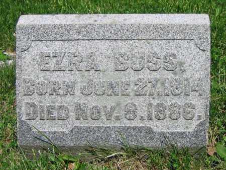 BUSS, EZRA - Clark County, Ohio | EZRA BUSS - Ohio Gravestone Photos