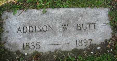 BUTT, ADDISON W. - Clark County, Ohio | ADDISON W. BUTT - Ohio Gravestone Photos