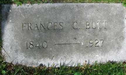 BUTT, FRANCES G. - Clark County, Ohio | FRANCES G. BUTT - Ohio Gravestone Photos