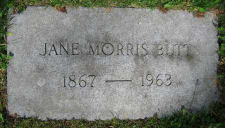 MORRIS BUTT, JANE - Clark County, Ohio | JANE MORRIS BUTT - Ohio Gravestone Photos